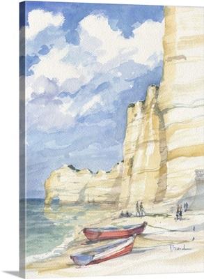 Vertical Cliffs at Etretat