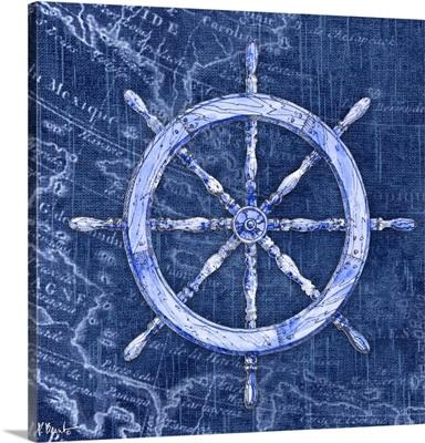 Vintage Nautical III - Indigo
