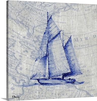 Vintage Nautical V