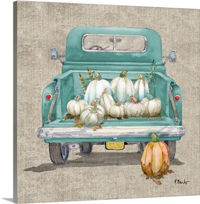 White Pumpkin Truck
