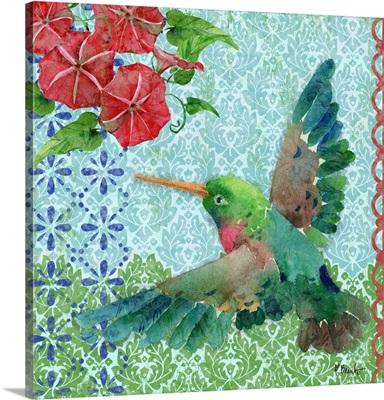 Zealous Hummingbird - Blue