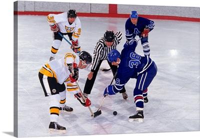 Ice Hockey face off