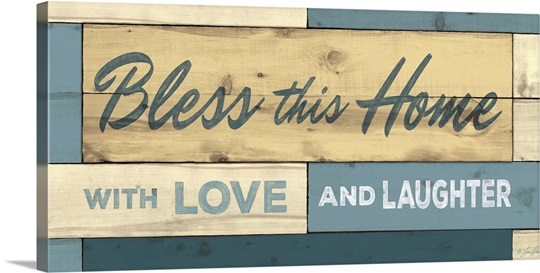 Bless This Home Wall Art, Canvas Prints, Framed Prints, Wall Peels ...