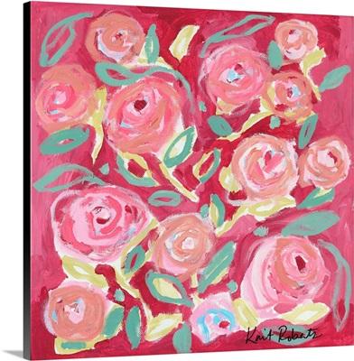 Blooming in Rose