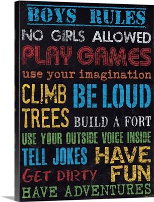 Boy's Rules