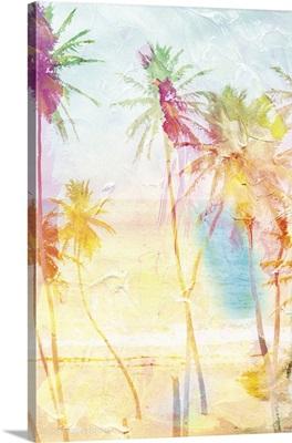 Bright Summer Palms