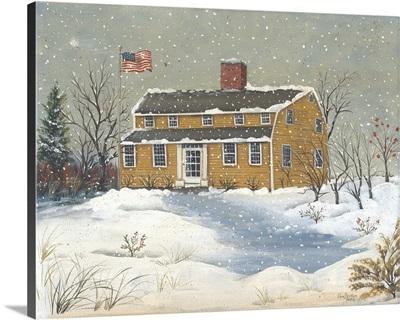 Burnham Tavern in Winter