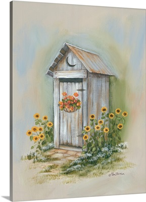 Country Outhouse I
