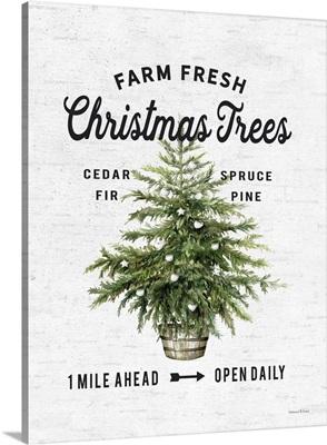 Farm Fresh Christmas Trees I
