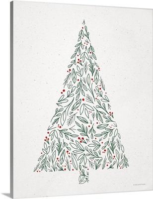 Floral Christmas Tree II