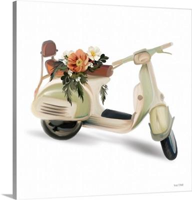 Flower Garden Scooter