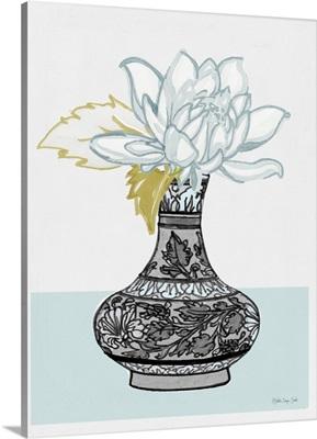 Flower Vase With Pattern I