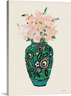 Flower Vase With Pattern II