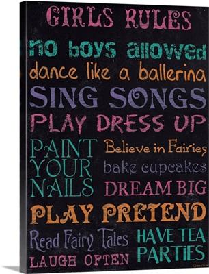 Girl's Rules