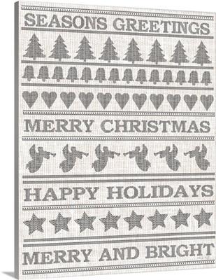 Holiday Sentiments Stitchery II