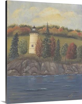 Lighthouse in Autumn