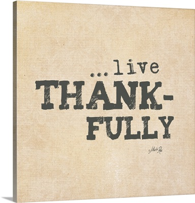 Live Thankfully