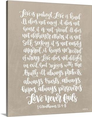 Love is Patient III