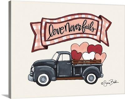 Love Never Fails Truck