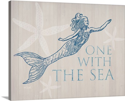 Mermaid At One with the See