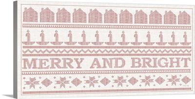 Merry and Bright Stitchery