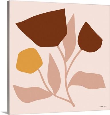 Modern Graphic Floral Stem