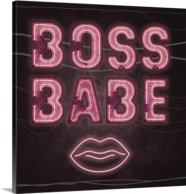 Neon Boss Babe
