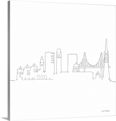 One Line San Francisco