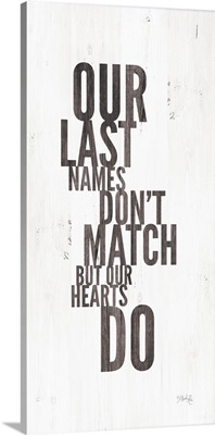 Our Last Names