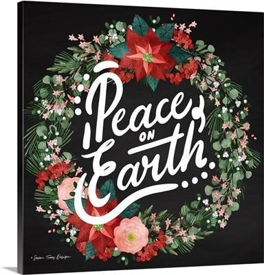 Peace on Earth Wreath