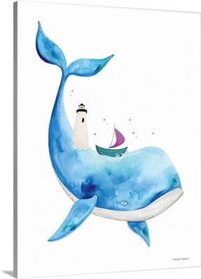 Sea On Its Back Whale