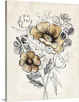 Serene Bouquet I