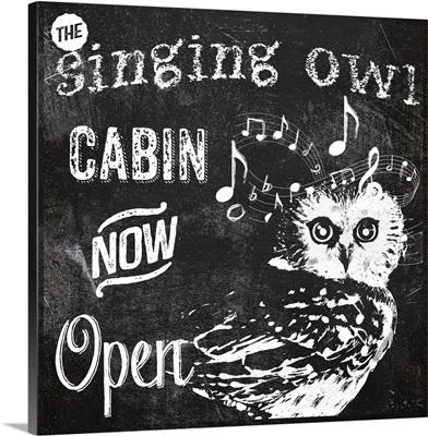 Singing Owl Cabin