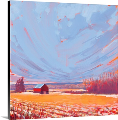 Slate Winter Sky