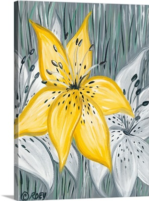 Tiger Lily in Yellow