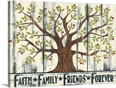 Tree - Faith Family Friends Forever
