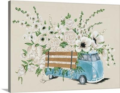 VW Bus White