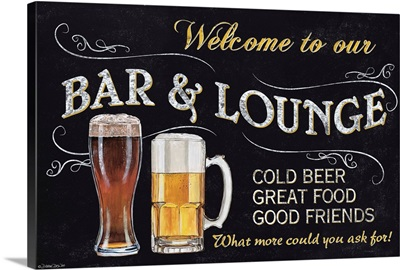 Welcome to Our Bar