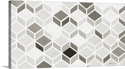 White And Gray Pattern