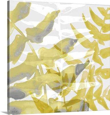 Yellow-Gray Leaves 1
