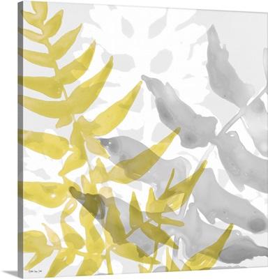 Yellow-Gray Leaves 2