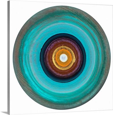 A Colorful Bullseye IX