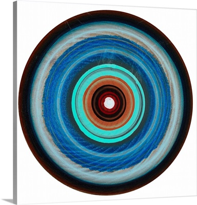 A Colorful Bullseye XIII