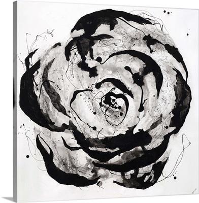 Black and White Bloom I