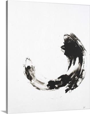 Black White Blossom I