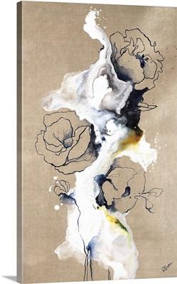 Cursive Floral I