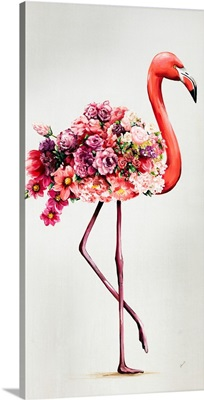 Flowering Flamingos I