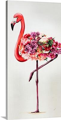 Flowering Flamingos II