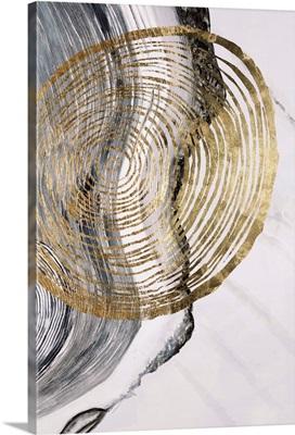 Gold Spiral Swirl