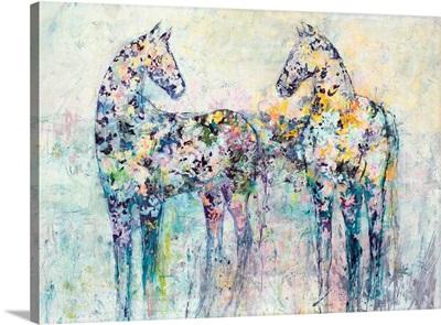 Horses in Bloom